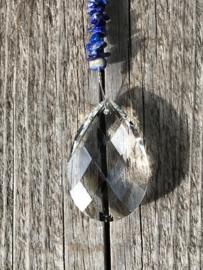 Suncatcher Lapis Lazuli  Bloem des levens