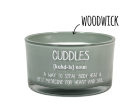 Geurkaars Cuddles, Minty Bamboo