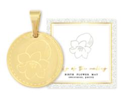 Birth flower mei goud, Lelietje van Dalen