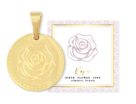 Birth flower juni goud, Roos
