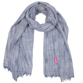 Jozemiek Linnen collection shawl blauw