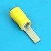 Blade terminal geel 2.8mm