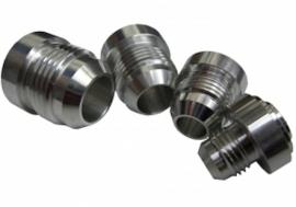 Aluminium lasnippel AN/JIC -06