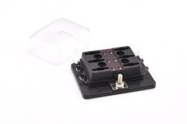 LED Zekeringhouder 6 voudig SPRI-FHA-L106