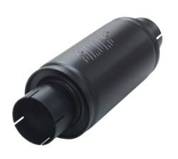 Stalen absorbtie demper rond SPGK-U457600