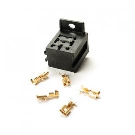 Relaishouder mini relais (koppelbaar) met terminals SPRI-RELH45B&T