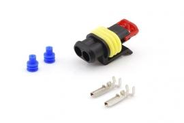 Superseal connector set 2 polig SPRI-SS2.8SET2