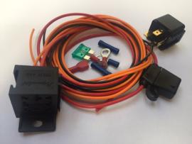 Elektrische koelfan relais kit 30 Ampere