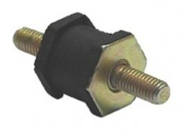 Uitlaat bevestigings rubber met M8 draadeind SPGK-U812308