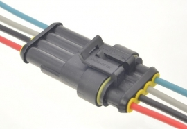 Superseal connector set 4 polig