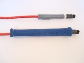 Bougie dop/kabel sleeve Blauw SLEEVE.BLU