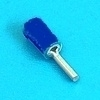 Pin terminal blauw 1.9mm
