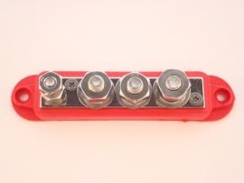 Verdeelstrip 4 voudig 6mm / 8mm