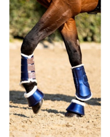 HB Show-time Gold Rush Glitter Trainingsboots Navy