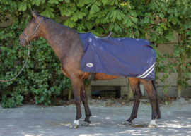 Harry's Horse Uitrijdeken 0gr Wodan fleece, dress blues