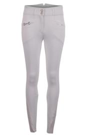 Montar rijbroek Molly Yati Highwaist NEW Edition - White Fullgrip
