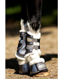 HB Show-time Gold Rush Glitter Trainingsboots Little sizes Grijs