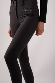 Montar rijbroek Molly Yati Highwaist NEW Edition - Grey, Fullgrip