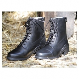 Harry's Horse Paddock boot leder Smart Black