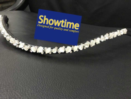 HB Showtime frontriem White Swarovski Opaal Mixed
