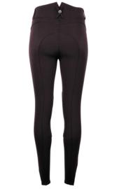 Montar rijbroek Essential Yati Highwaist vol 2 - Black, Fabric knee