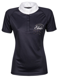 Harry's Horse Wedstrijdshirt Elite Crystal navy