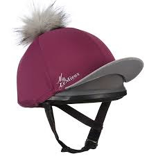 Lemieux Hat Silk Plum/grey