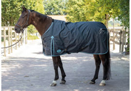 Harry's Horse Deken Thor 200gr Ebony