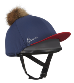 Lemieux Hat Silk Navy/Red