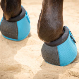 Bell boots No-Turn maat M turquoise