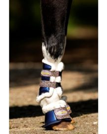 HB Show-time Gold Rush Glitter Trainingsboots Little sizes Navy