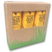 Tri-Pack Aloe Vera Gel (3x)