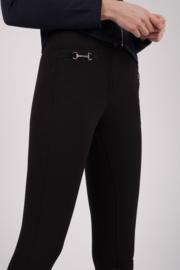 Montar rijbroek Molly Yati Highwaist NEW Edition - Black, Fullgrip