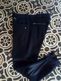 Just Move rijbroek dames Dark blue met sill. knie
