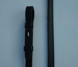 916 HB Lederen Stang en Trens Teugels zwart full
