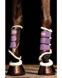 HB Show-time Gold Rush Glitter Trainingsboots Bruin