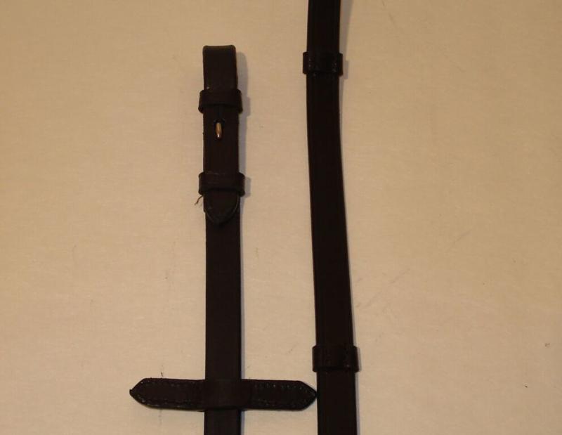 908 HB Lederen Teugels zwart full