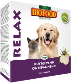 Biofood relax hond & kat gistsnoepjes