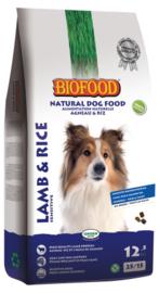 Biofood Lam&Rijst 3kg