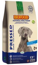 Biofood geperst lam 13.5kg (hypoallergeen, tarwe/glutenvrij)