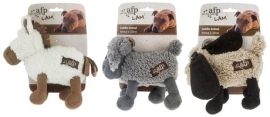 Afp lambswool knuffel (horse/dog/monkey)