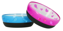 AFP Kitty love bowl roze