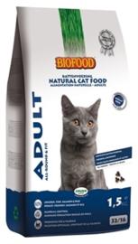 Biofood kat adult 1,5kg (fit)