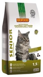 Biofood kat senior 1,5kg (ageing)