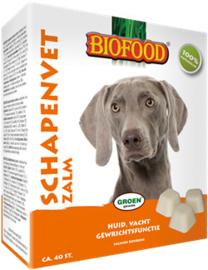 Biofood Schapenvet bonbon met zalm (40st.)