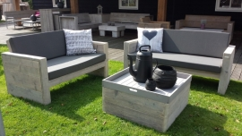 Luxe loungebanken voor tuin, terras en veranda!