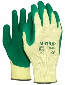 Grip handschoenen latex (bouw, tuin en bestrating)