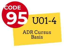 Cursus ADR-certificaat Basis (PARTICULIER, 0% BTW)