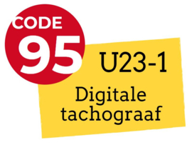 Nascholingscursus U23-1 Digitale tachograaf op 28 september 2019 in Oss