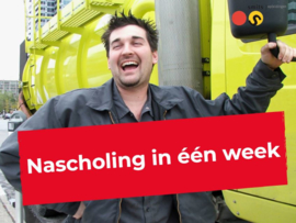 Nascholing in één week!